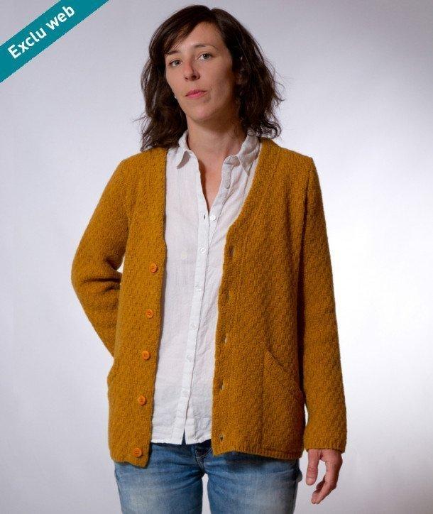 Gilet femme classique laine   Aqualogia 4ae9536a58bf