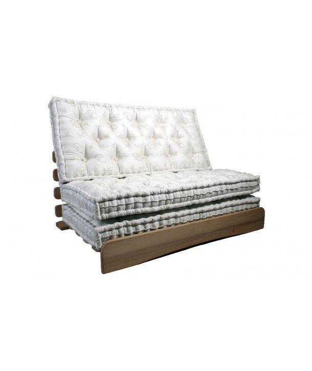 matelas laine bio tradition 3 parties fabriqu en france. Black Bedroom Furniture Sets. Home Design Ideas