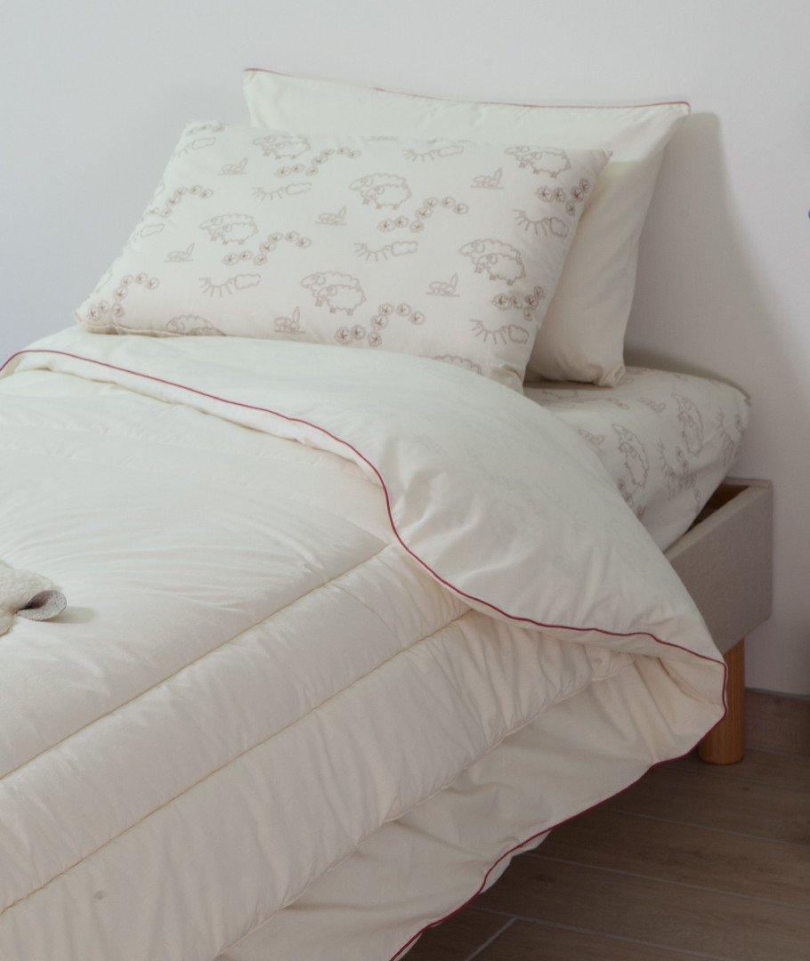 couette enfant laine bio naturelle hiver fabriqu e france. Black Bedroom Furniture Sets. Home Design Ideas
