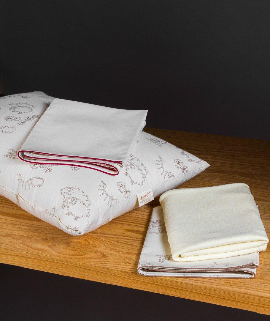 oreiller plat enfant adulte laine bio france. Black Bedroom Furniture Sets. Home Design Ideas