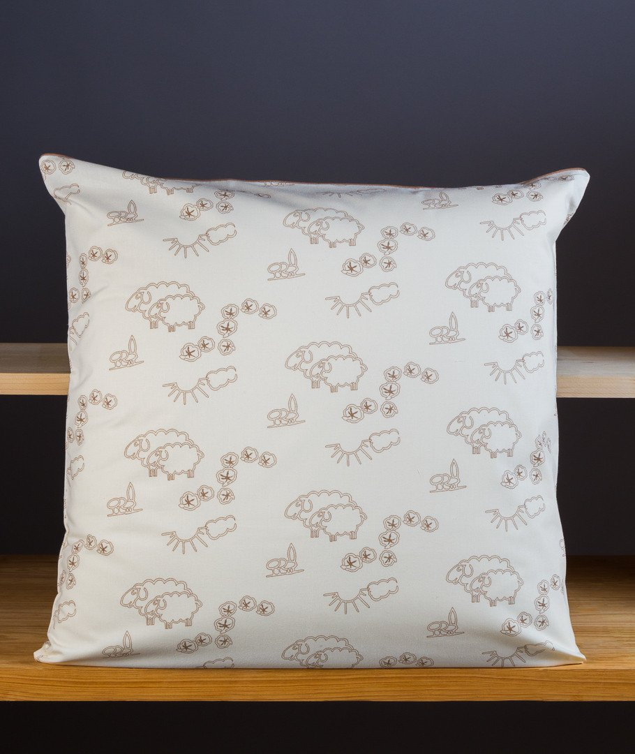 taie pur coton bio oreiller 60x60 fabrication france. Black Bedroom Furniture Sets. Home Design Ideas