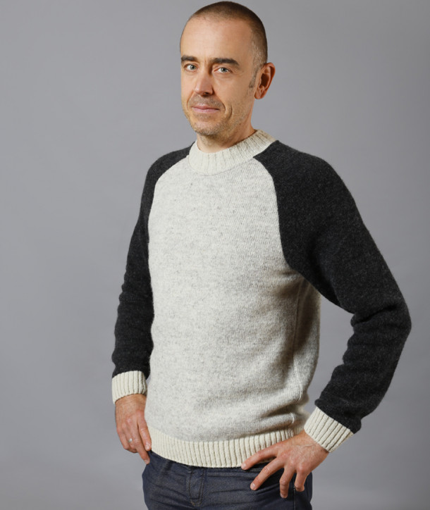 PULL HOMME PURE LAINE - EYRIEUX