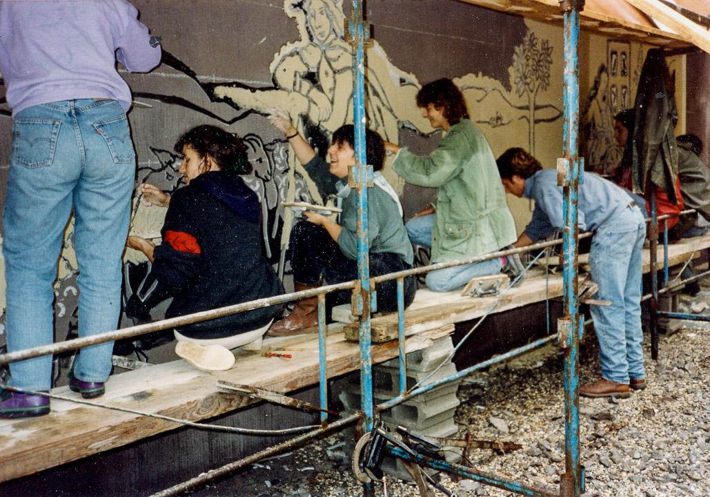 Ardelaine-Histoire-Travaux-Construction-Musee-Laine-Scop-Ardeche