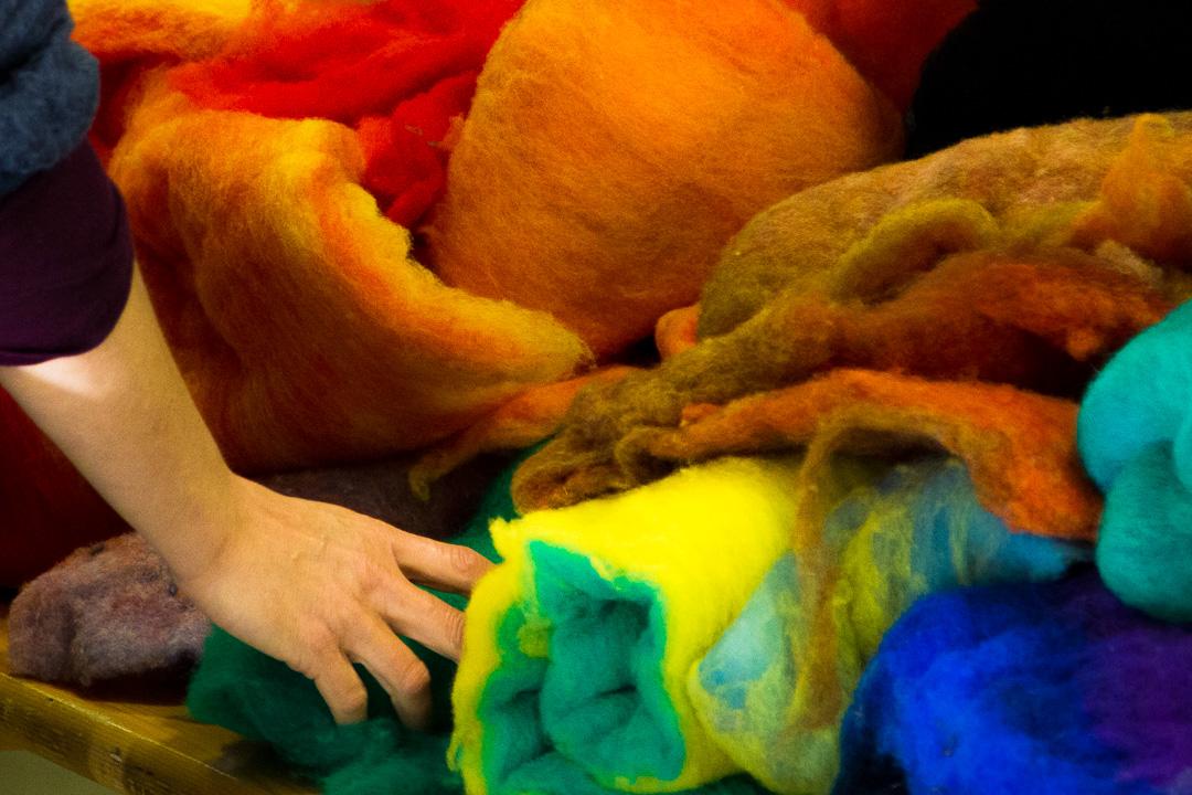 Feutrer-Laine-Atelier-Créatifs-Enfants-Familles-Ardèche