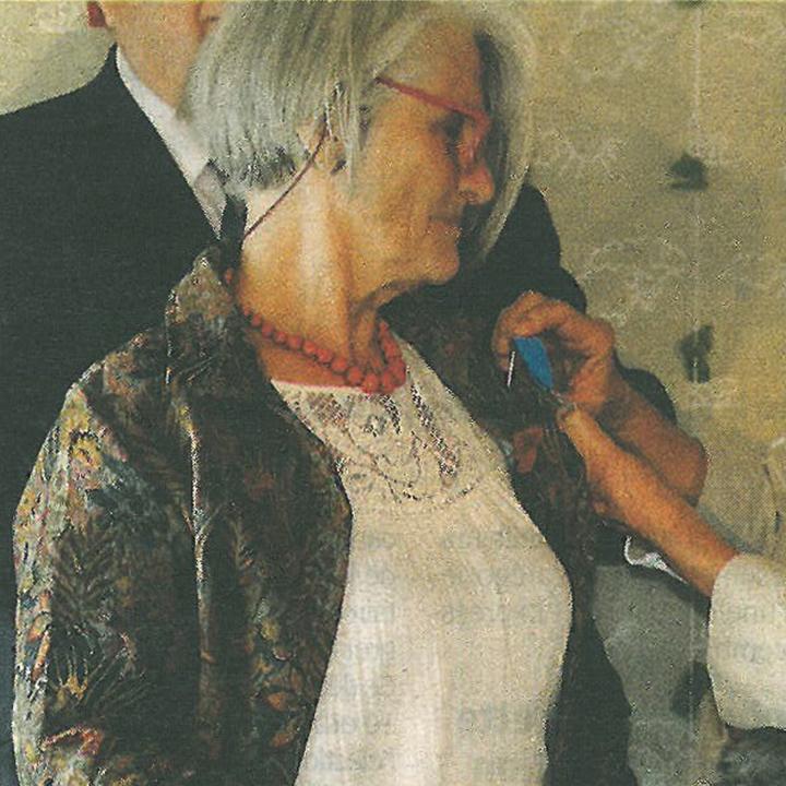 L'HEBDO DE L'ARDECHE 29.09.2016 B.BARRAS MEDAILLE ORDRE NATIONAL DU MERITE