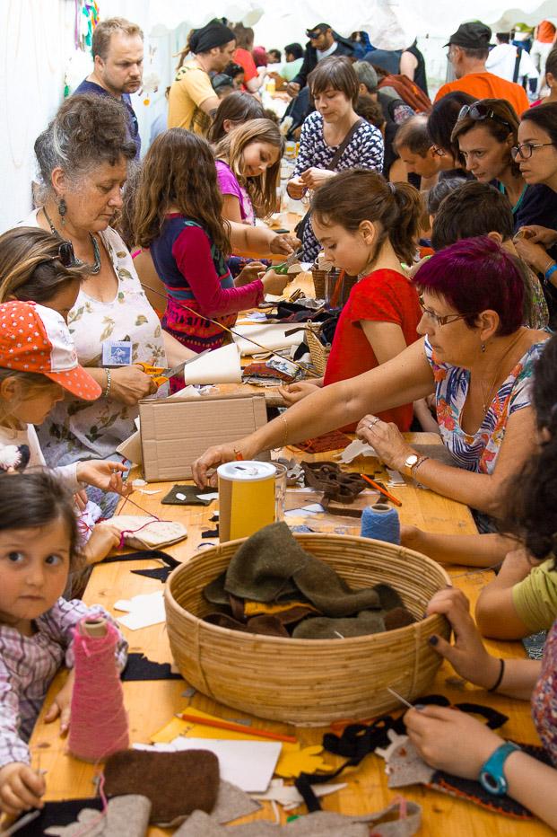 creations chutes de tricot atelier enfant familles Ardelaine Saint Pierreville