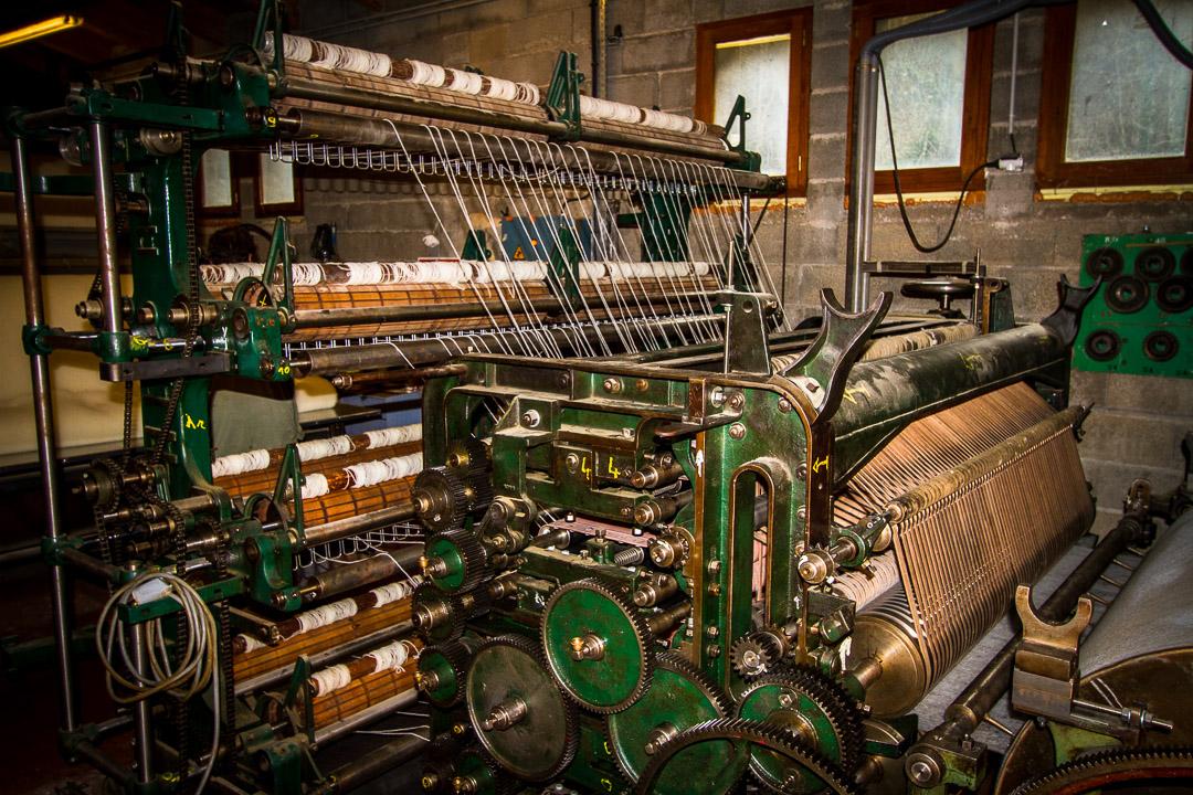 Visite-Guidée-Ancienne-Machine-Laine-fonctionnement-Ardelaine