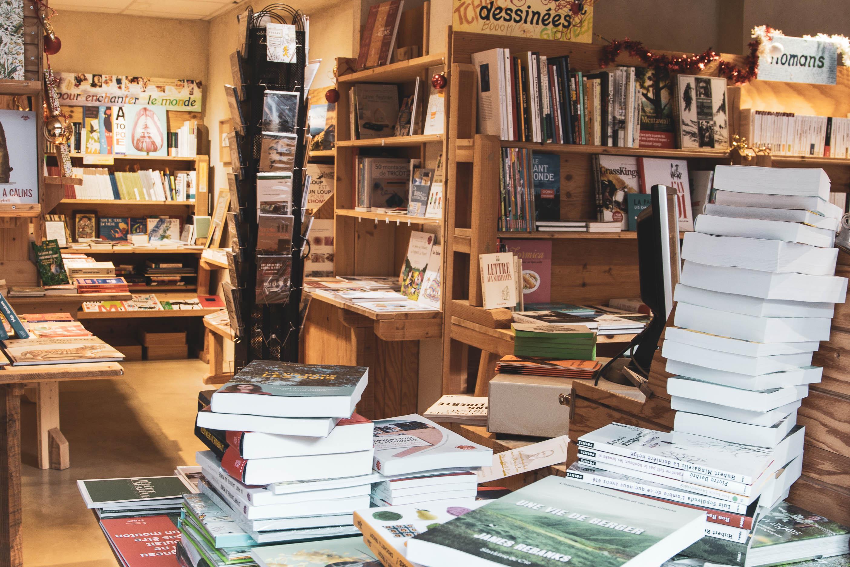 librairie Ardelaine Saint-Pierreville