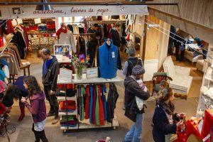 boutique laine vêtements Ardelaine Saint Pierreville Ardèche Magasin d'usine